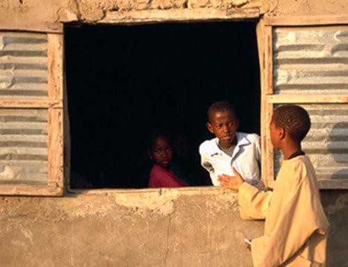 Leben im afrikanischen Dorf