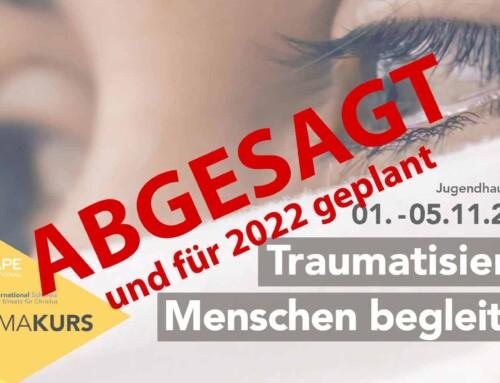 Abgesagt: Traumatisierte Menschen begleiten 2021